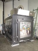 2015 Italforni Pesaro TT600X 600kW Ventilated Elec Kiln s/n 29601 w/ Italforno Control, SOLD AS IS