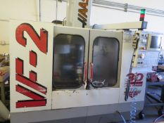 1998 VF-2 4-Axis CNC Vertical Machining Center s/n 15521 w/ Haas Controls, Hand Wheel, (SOLD AS IS)