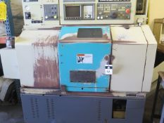 Takisawa TC-30 CNC Turning Center s/n TLNM5560 w/ Takisawa-Fanuc Controls, 12-Station, SOLD AS IS