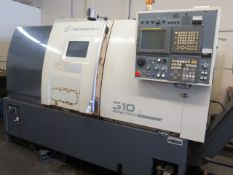Takisawa-T EX-310 Live Turret CNC Turning Center s/n CW07E40035 w/ Fanuc Series 21i-TB, (SOLD AS IS)