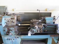"Victor mdl. 1640 16"" x 40"" Gap Bed Lathe s/n 461007 w/ 65-1800 RPM, Inch/mm Threading, SOLD AS IS"