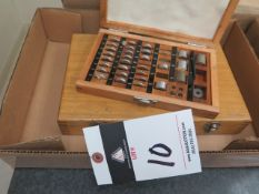 Gage Block Set and Height Block Set (SOLD AS-IS - NO WARRANTY)