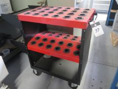 Huot Tool-Scoot 40 Taper Tooling Cart (SOLD AS-IS - NO WARRANTY)