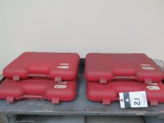 """Import Pin Gage Sets .626""""-.750"""", .751""""-.832"""", .833""""-.916"""", .917""""-1.000"""" (SOLD AS-IS - NO WARRANTY)"""