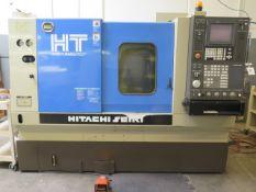 Hitachi Seiki Hitec-Turn 20J CNC Turning Center s/n HTJ3851HL w/ Seicos J Controls, SOLD AS IS