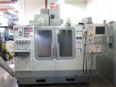 2006 Haas VF-2B 4-Axis CNC Vertical Machining Center s/n 1050360 w/ Haas Controls, Hand Wheel, 24-