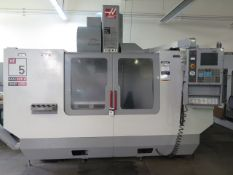 2004 Haas VF-5B/40 4-Axis CNC Vertical Machining Center s/n 38289 w/ Haas Controls, SOLD AS IS
