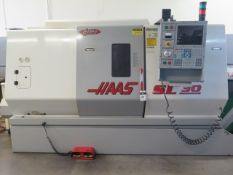 2000 Haas SL-30T CNC Turning Center s/n 62990 2/ Haas Controls, 12-Station, Tailstock, SOLD AS IS