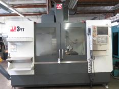 2013 Haas VF-3TY 4-Axis CNC Vertical Machining Center s/n 1107041 w/ Haas Controls, SOLD AS IS