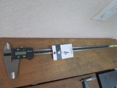 """Mitutoyo 12"""" Digital Caliper (SOLD AS-IS - NO WARRANTY)"""