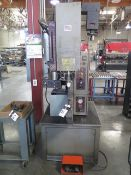 "Haeger 8 Ton x 24"" Hardware Insertion Press w/ Haeger Tool Protection System Bowl Feeder, SOLD AS IS"