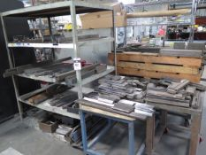 Press Brake Dies 2/ Racks and Carts (SOLD AS-IS - NO WARRANTY)