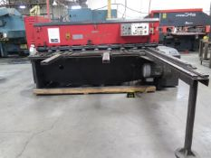"Amada M-2060 ¼"" x 78"" Power Shear s/n 20600686 w/ Amada Controls and Back Gauging, SOLD AS IS"