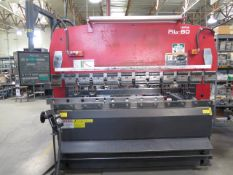 "2000 Amada RG-80 80 Ton x 8' CNC Press Brake s/n 811958 w/ NC9-EX II, 94.6"" Table SOLD AS IS"