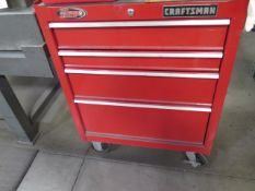 Craftsman Roll-A-Way Tool Box (SOLD AS-IS - NO WARRANTY)