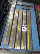 Amada Press Brake Tooling w/ Cart (SOLD AS-IS - NO WARRANTY)