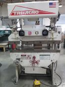 "Pacific / Tri-Acro mdl. 17-4 14GA x 48"" Hyd Press Brake s/n 1387P w/ Manual Back Gauge, SOLD AS IS"