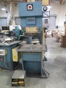 "Amada SPH-30C 30 Ton Hydraulic Press Brake s/n 305771 w/ 12 7/8"" Ram Die Head, SOLD AS IS"