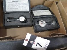 Dial Chamfer Gages (2) (SOLD AS-IS - NO WARRANTY)