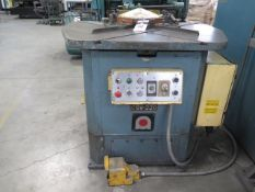"Amada CSW-220 Dual Head Hydraulic 8 5/8"" x 8 5/8"" Corner Notcher and 2 ¾"" x 4"" Coping, SOLD AS IS"