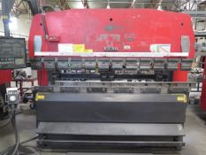 "Amada RG-80 80 Ton x 8' CNC Press Brake s/n 810340 w/ NC9-EX II Controls, 94.6"" Table, SOLD AS IS"
