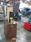 "Haeger HP2.5A 2.5 Ton Hardware Insertion Press s/n 182 w/ 12"" Throat (SOLD AS-IS - NO WARRANTY)"