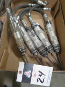 Pneumatic Scalers (5) (SOLD AS-IS - NO WATRRANTY)