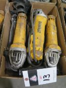 DeWalt Angle Grinders (3) (SOLD AS-IS - NO WATRRANTY)