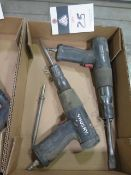 Hushy Pneumatic Chisels (2) (SOLD AS-IS - NO WATRRANTY)
