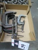 C-Clamps (SOLD AS-IS - NO WARRANTY)