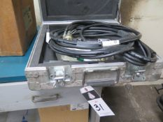 """Fatigue Technologies LB-20 """"Little Brute Puller"""" Hydraulic Cold Expansion Puller s/n 3155 SOLD AS IS"""