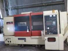 Okuma & Howa ACT 5L CNC Turning Center s/n 19192 w/ Fanuc 0T Controls, 12-Station Turret, SOLD AS IS