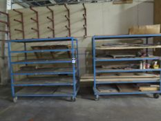 Racks and Rolling Racks (SOLD AS-IS - NO WARRANTY)