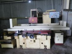"""Chevalier FSG-1640AD 16"""" x 40"""" Auto Surface Grinder s/n G478004 w/ Chevalier Controls, SOLD AS IS"""