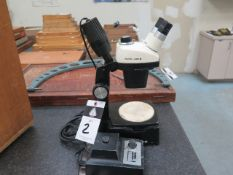 Bausch & Lomb Stereo Microscope w/ Light Source (SOLD AS-IS - NO WARRANTY)
