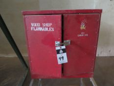 Flammables Storage Cabinet (SOLD AS-IS - NO WARRANTY)