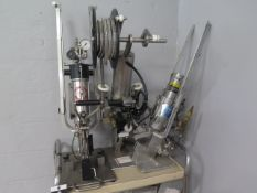 """Tipper Clipper """"Tipper-Tie"""" Pneumatic Double Clipping Machines (2) (SOLD AS-IS - NO WARRANTY)"""