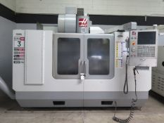 2007 Haas VF-3SS 4-Axis Ready CNC VMC w/ 24-Side Mount ATC, 40-Taper, 12,000 RPM, SOLD AS IS