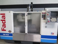(2000 Remanufactured) Fadal VMC4020 CNC Vertical Machining Center s/n 031991020014, SOLD AS IS