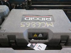 Rigid RP-340 Pressing Tool w/ (6) Pressing Die Heads (SOLD AS-IS - NO WARRANTY)