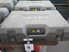 Rigid RP-340 Pressing Tool w/ (4) Pressing Die Heads, Charger (SOLD AS-IS - NO WARRANTY)