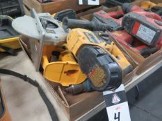 DeWalt 18Volt Hammer Drill, Circular Saw and Drill w/ Charger (SOLD AS-IS - NO WARRANTY)