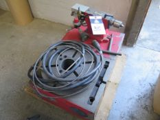 """Haas HRT-310 12"""" 4th Axis Rotary Table s/n 310338 w/ 3 1/4"""" Thru Bore, Pneumatic Center, SOLD AS IS"""