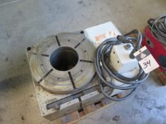 """Haas HRT-450 17 3/4"""" Big Bore 4th Axis Rotary Table s/n 450380 w/ 7 1/2"""" Thru Bore, Haas, SOLD AS IS"""