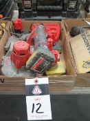 Milwaukee 12Volt Portable Band Saw w/ Charger (SOLD AS-IS - NO WARRANTY)
