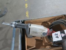 Milwaukee Straight Shaft Grinder (SOLD AS-IS - NO WARRANTY)