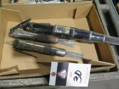 Pneumatic Scalers (3) (SOLD AS-IS - NO WARRANTY)