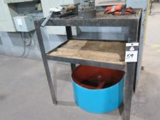 Steel Table (SOLD AS-IS - NO WARRANTY)