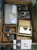 Planer Gages, 1-2-3 Blocks Parallels and Swivel V-Block (SOLD AS-IS - NO WARRANTY)