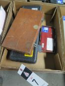 """Fowler 2""""-4"""" Dial Bore Gage, Starrett 1.5""""-6"""" ID Mic & Mitutoyo .7""""-1.4"""" Dial Bore Gage SOLD AS IS"""